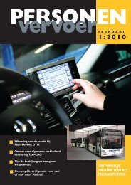 taxi - Personenvervoer Magazine