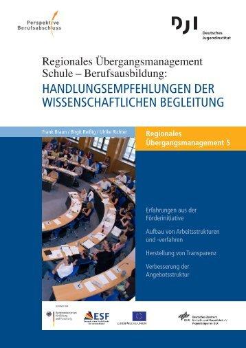 Handlungsempfehlungen der wissenschaftlichen Begleitung, RÜM ...