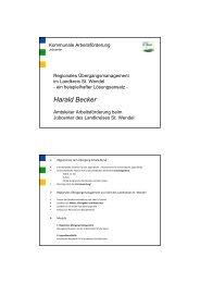 Projekt-Präsentation - Perspektive Berufsabschluss