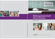 Bildungslandschaft Hoyerswerda BERICHT 2009 - Perspektive ...