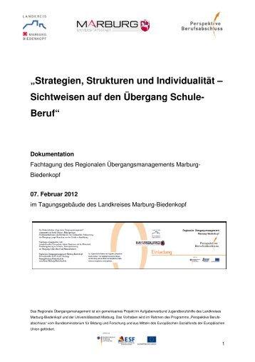 Dokumentation Fachtag - Perspektive Berufsabschluss