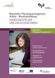 Regionales Übergangsmanagement Schule – Berufsausbildung