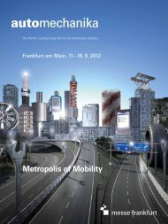 To download the brochure, click here - Messe Frankfurt USA