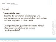 Forum 1 - Beitrag Dr. Tim Brüggemann - Perspektive Berufsabschluss