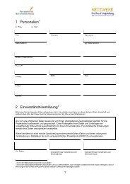 Erhebungsbogen Biografie - Perspektive Berufsabschluss