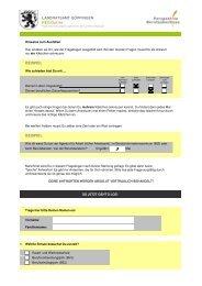 Fragebogen zur Schulabgangsbefragung 2012 - Perspektive ...