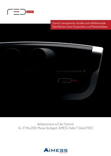 Produktvorstellung R3Dscan (PDF) - Perspektive Mittelstand