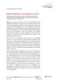 Pressemitteilung vom 1 - Perspektive 50plus