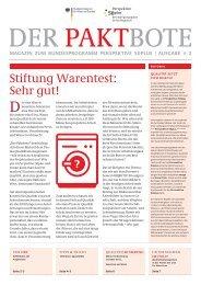 2. Ausgabe 2011 - Perspektive 50plus