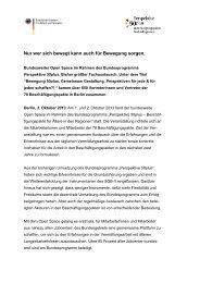 Pressemitteilung - Perspektive 50plus