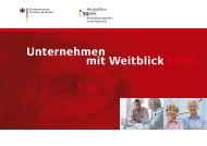 Broschüre Unternehmen mit Weitblick 2006 - Perspektive 50plus