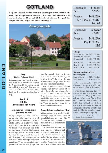 Gotland - Perssons Resor