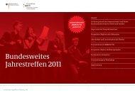 Dokumentation Jahrestreffen 2011 - Perspektive 50plus