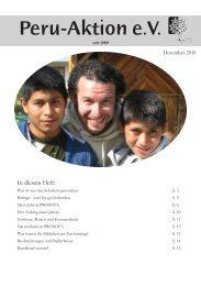 Rundbrief Dezember 2010.indd - Peru-Aktion