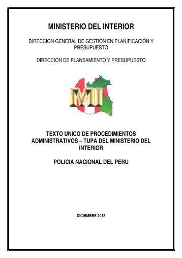 TUPA - Portal del Estado Peruano