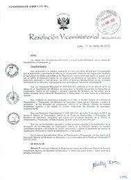 resolucion viceministerial nº 0002-2012-ag - Portal del Estado ...