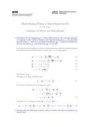 Musterlösung Übung 4 (Antriebssysteme II)