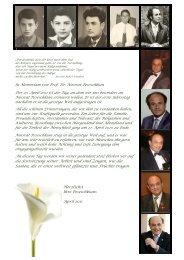 Memoriam Brief - Peseschkian-Stiftung