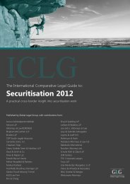 Securitisation 2012 - Pestalozzi Attorneys at Law