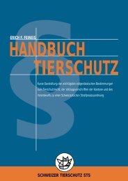 Handbuch TierschutzEidg. Bestimmungen zum ... - PETCOM