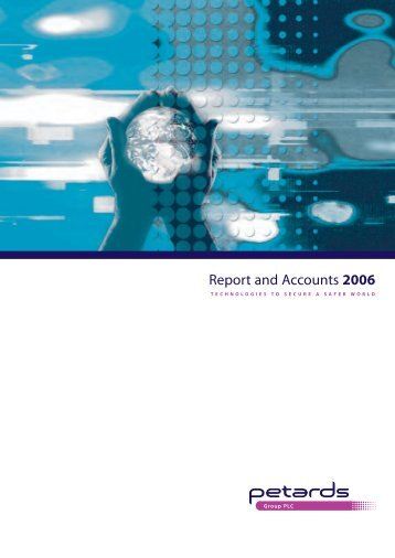 Download the 2006 Reports and Accounts - Petards Group plc