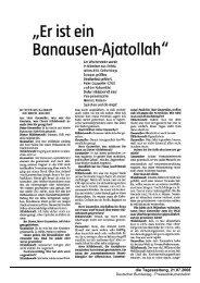 Er ist ein Banausen-Ajatollah - Dr. Peter Gauweiler