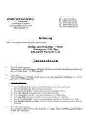 31. Sitzung am Montag, 21. Mai 2012, 17 Uhr - Deutscher Bundestag