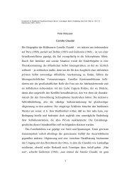Camille Claudel - Peter Matusseks