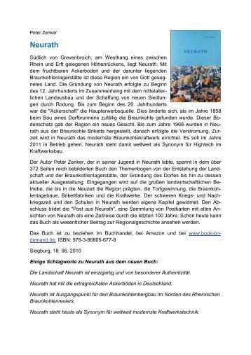 Braunkohle, Kraftwerke, Briketts - Dr. Peter Zenker