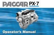 paccar px-7 - Peterbilt Motors Company