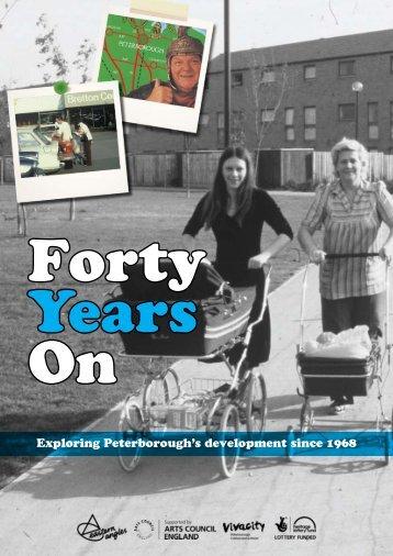 Exploring Peterborough's development since 1968