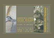 Jegenstorf Einladung Ausstellung mit Peter Disler 1.73 Mb