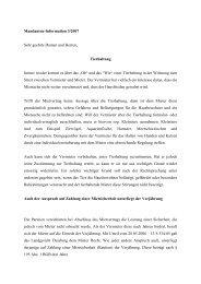 Mandanten-Information 3/2007 Sehr geehrte Damen und Herren ...
