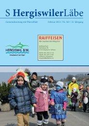 S Hergiswiler Läbe online {PDF 2.450 MB} - Peter Helfenstein