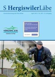 S Hergiswiler Läbe online {PDF 3.560 MB} - Peter Helfenstein