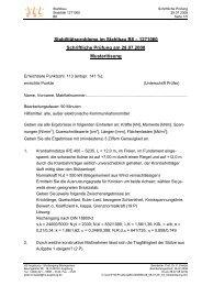 B8-Stabilität - SS 2008 - Ingenieurbüro Dr. Knödel