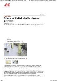 Mann im U-Bahnhof ins Koma getreten - Deutsche Opfer, fremde Täter