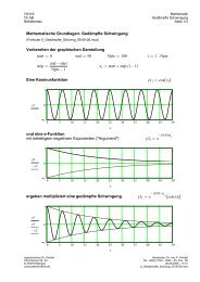 Mathcad - 0_Gedaempfte_Schwing_ - Ingenieurbüro Dr. Knödel