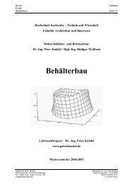 Behälterbau - Ingenieurbüro Dr. Knödel