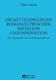 Die mittelenglische Romanze zwischen Imitation und ... - Peter Lang