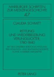 1. Thema, Quellen, Forschungsstand - Peter Lang