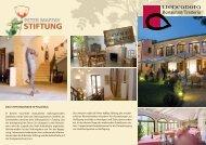 Restaurant/Trattoria - Peter Maffay Stiftung