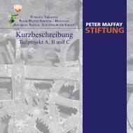 Kurzbeschreibung - Peter Maffay Stiftung