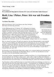 pdf | wiener zeitung - Peter Pirker \ Historiker \ Politikwissenschafter