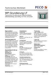 WP-Grundierung LF - PETERS sen