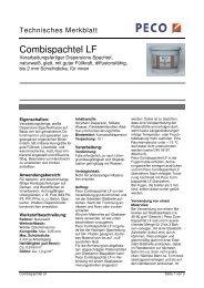 Combispachtel LF - Peter sen