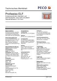Profiweiss ELF - Peter sen