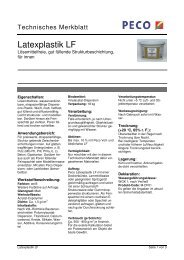Latexplastik LF - PETERS sen