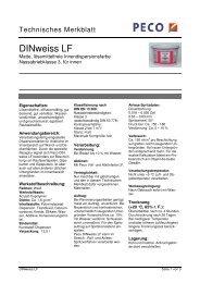 DINweiss LF - Peter sen