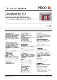 Classicweiss ELF - Peter sen